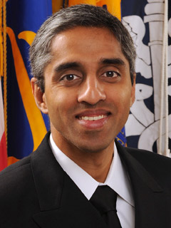 Vice Admiral (VADM) Vivek H Murthy, MD, MBA